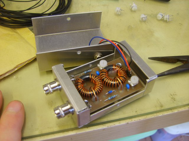 600W HF RF amplifier EB104